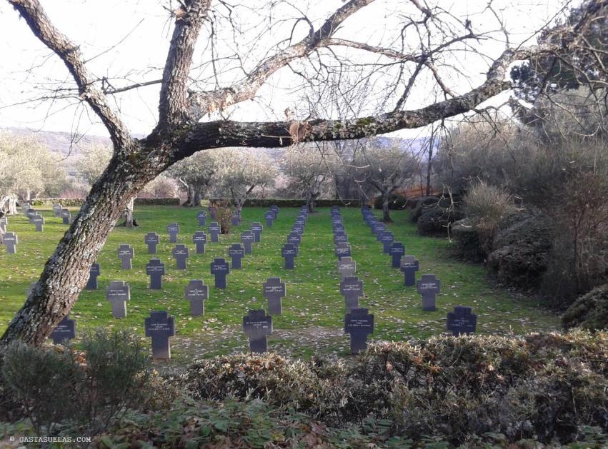 El Cementerio Alemán de Cuacos de Yuste (Comarca de la Vera)