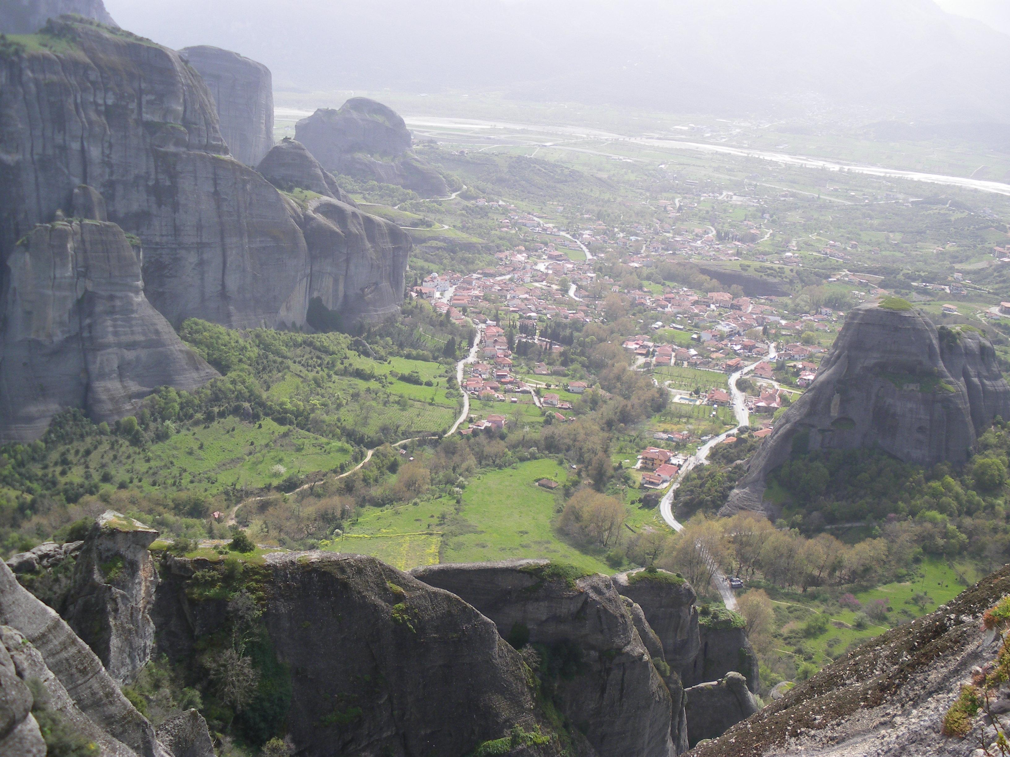 Kastraki (Grecia): El Centro de Meteora.