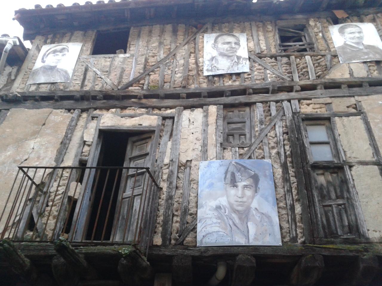 La Villa de Mogarraz (Salamanca) y sus inquietantes 388 caras.