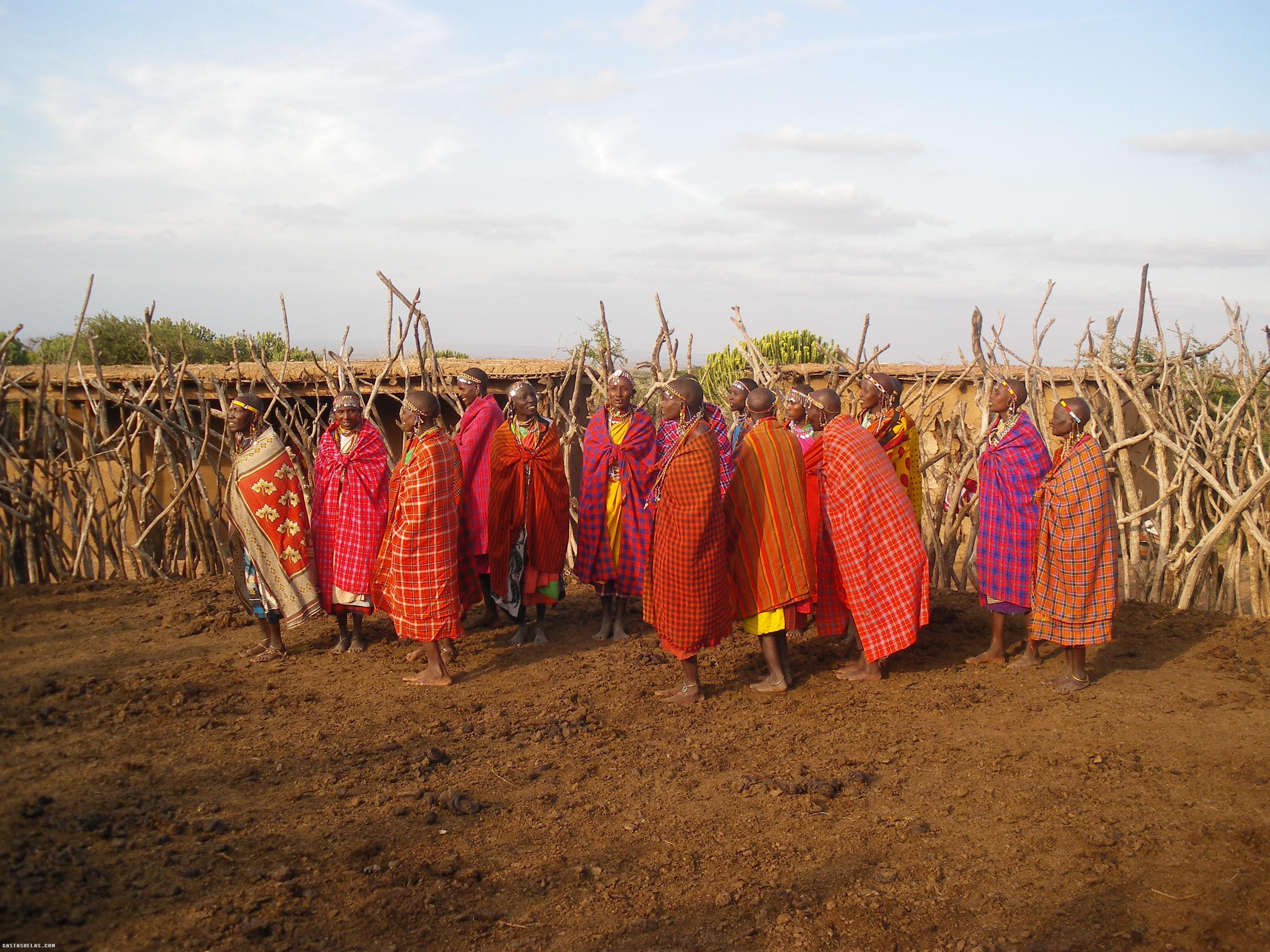 Maji Moto (Kenia) y la Boma de las Viudas Masai