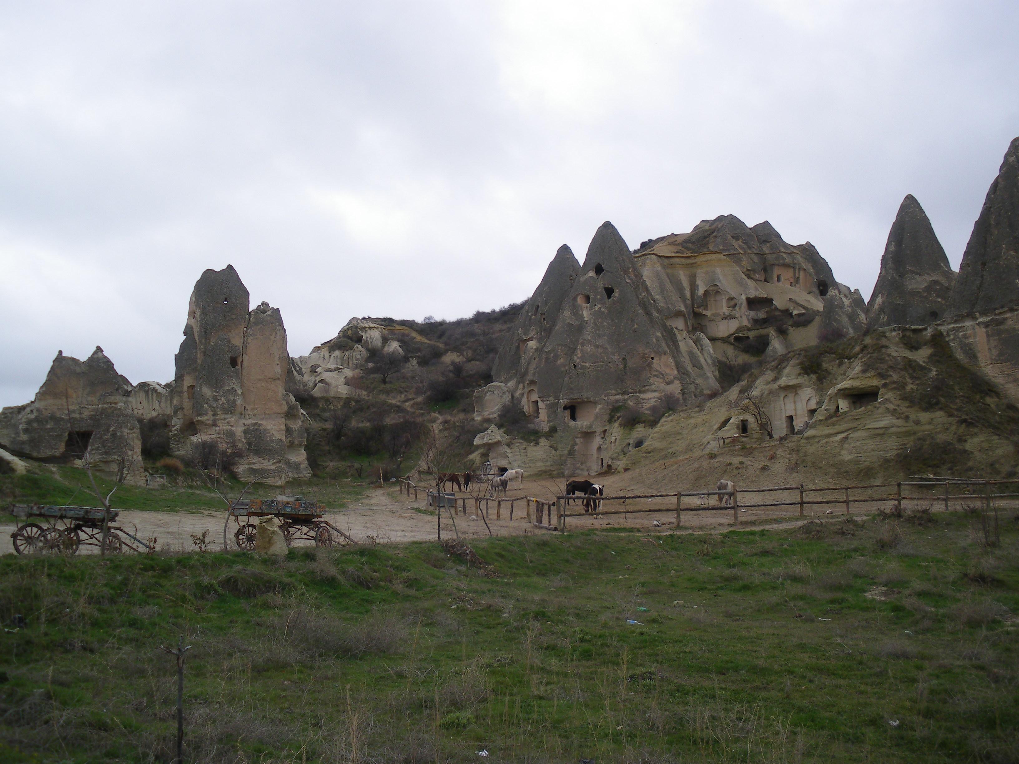 Goreme (Turquía): El Centro de La Capadocia