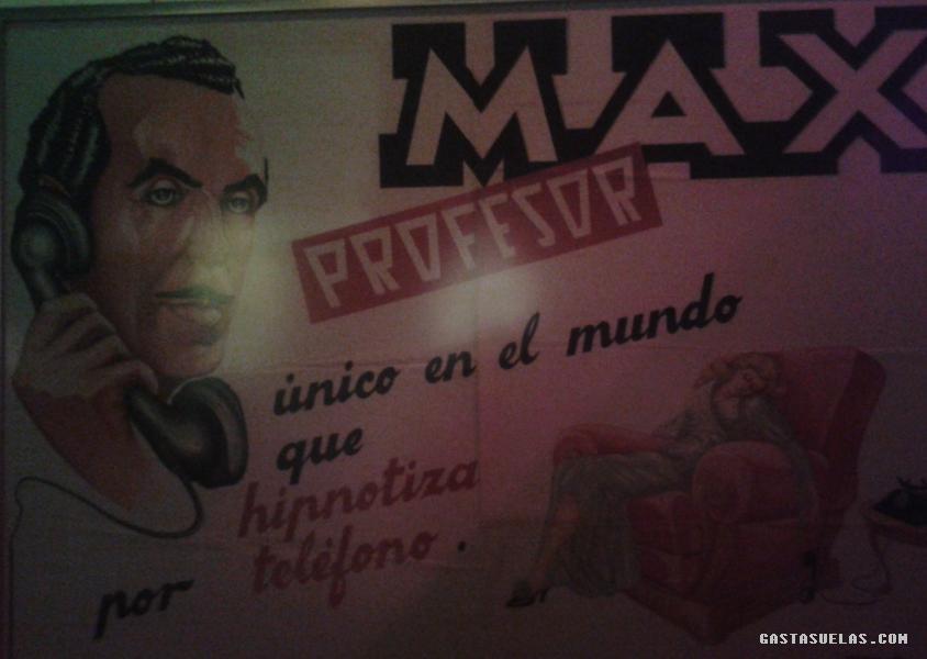 Profesor Max - Cartel 2