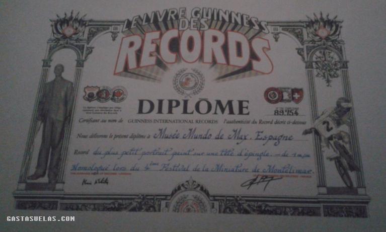Profesor Max - Record Guinness