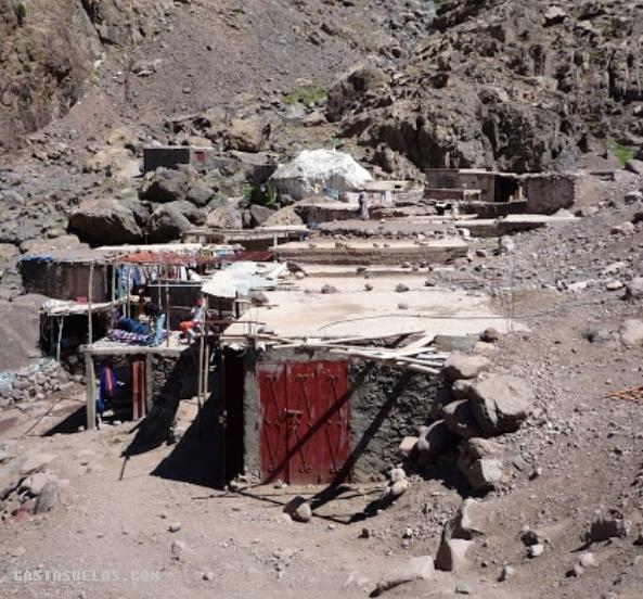 Toubkal - Chamrouch y su piedra blanca