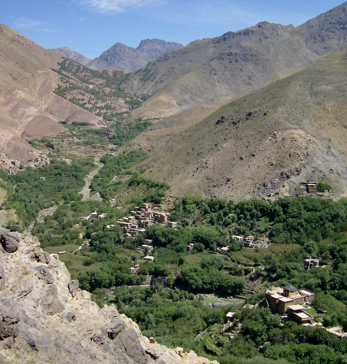 Toubkal - EL VALLE