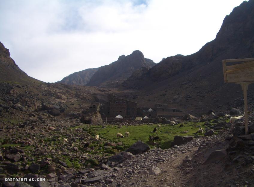 Toubkal - Refugio