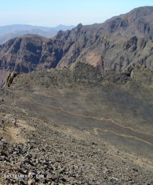 Toubkal - Sendero a Cumbre