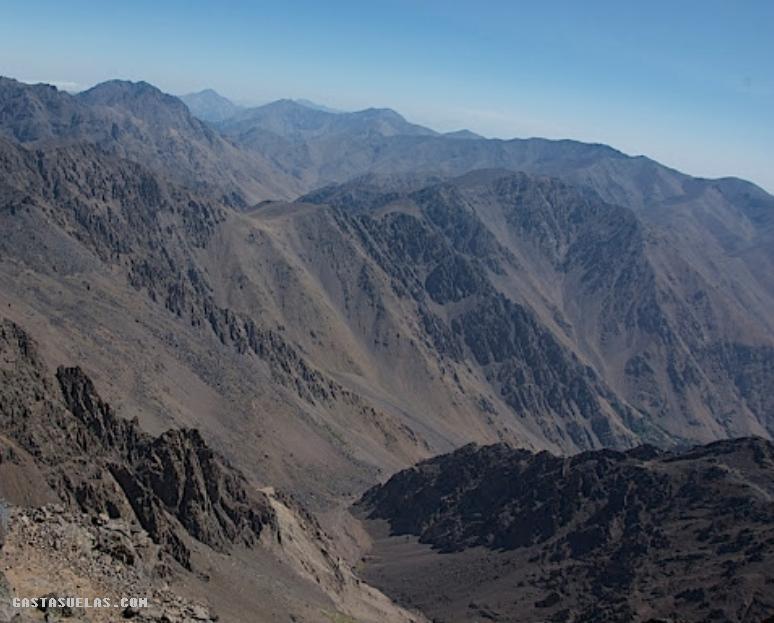 Toubkal - Vista desde la Cima