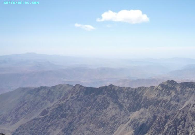 Toubkal - Vistas desde la Cumbre