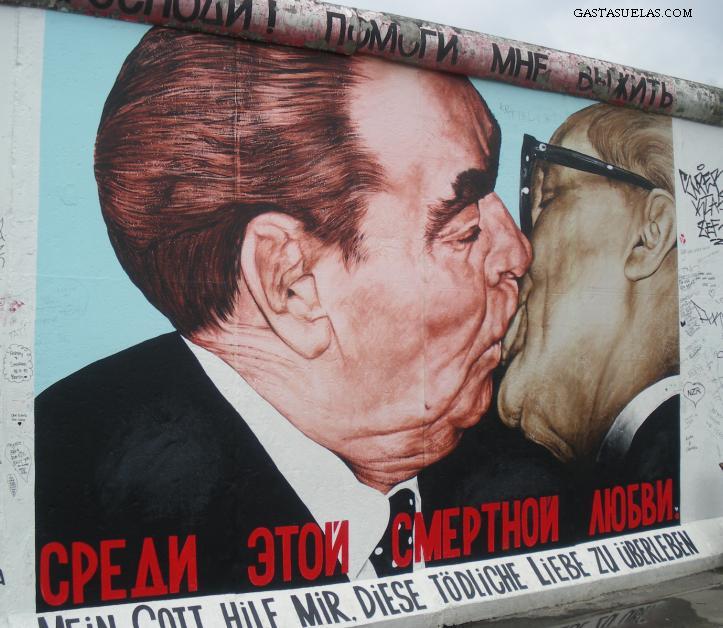 El Muro en East Side Gallery (Berlín, Alemania)