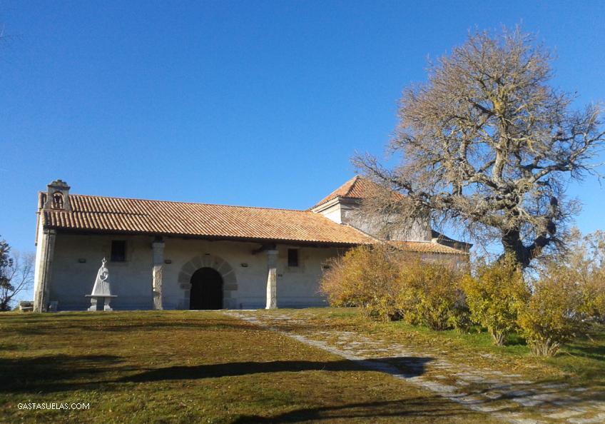 Ermita de la Virgen del Gozo en Los Santos (Salamanca)