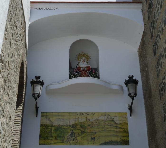 Puerta Real en Vélez-Málaga (Andalucía)