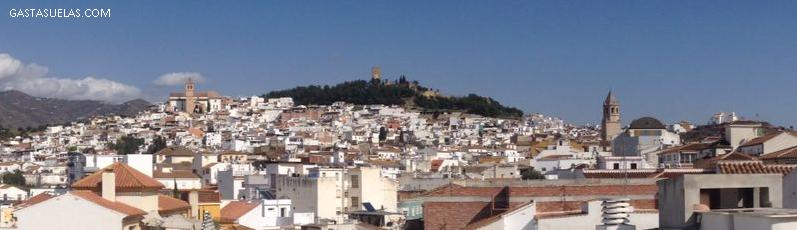 Vista panorámica de Vélez-Málaga