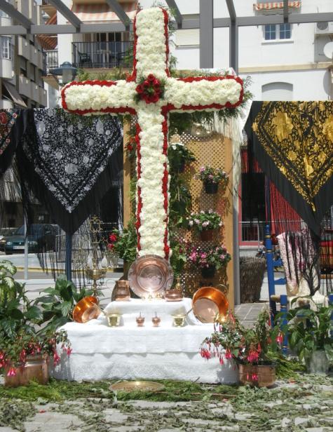 Día de las Cruces en Torre del Mar (Vélez-Málaga)