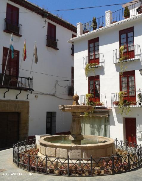 Fuente en la Calle Chillas en Vélez-Málaga (Andalucía)