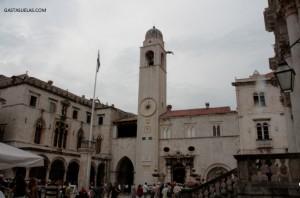 DUBROVNIK Torre del Reloj y Palacio Sponza CROACIA