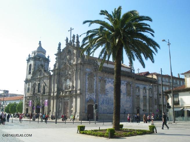 Oporto - Iglesia do Carmo