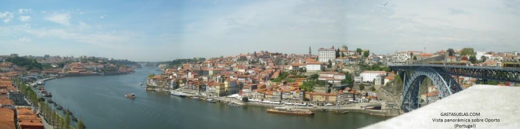 9 Oporto - Panorámica Duero