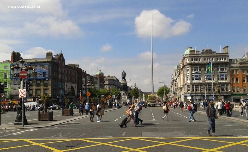 Dublin - Oconnel Street