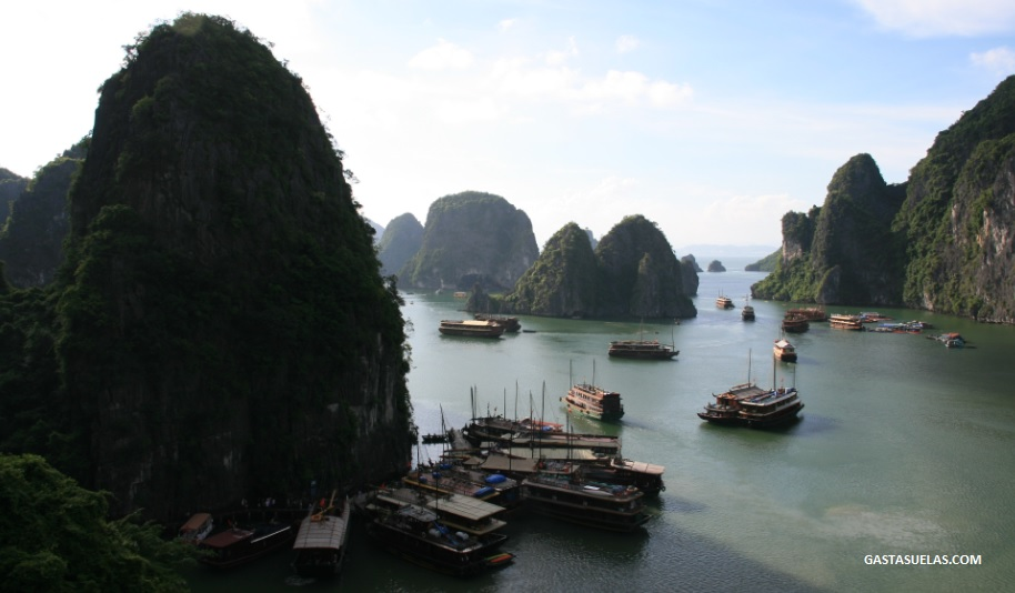 Barcos - Ha long - Vietnam