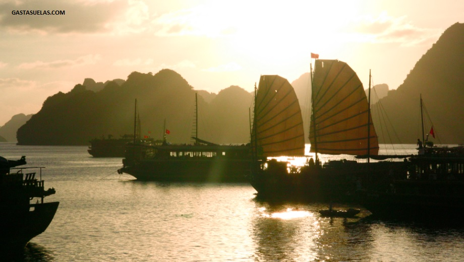 Barcos - Ha long Bay - Vietnam