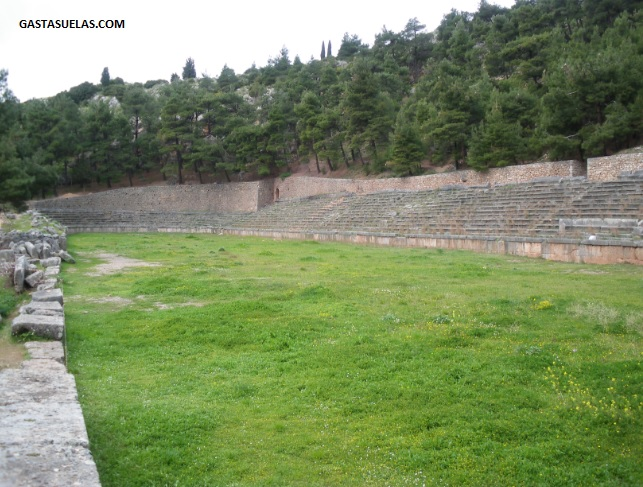Gimnasio - Delfos - Grecia