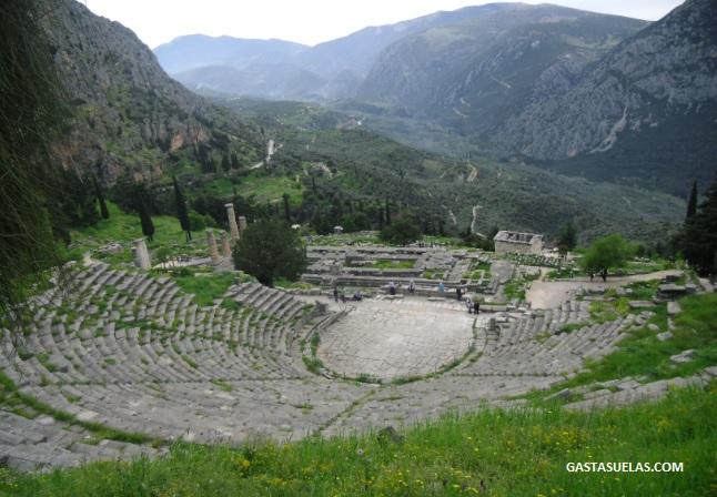 Teatro - Delfos - Grecia
