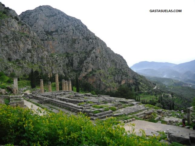 Templo Apolo - Delfos - Grecia