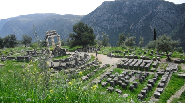 Templo Athenea - Delfos - Grecia