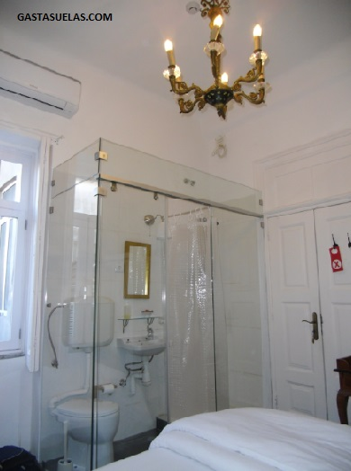 Baño - Hostel - Oporto