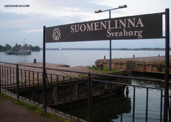 Embarcadero de Suomenlinna