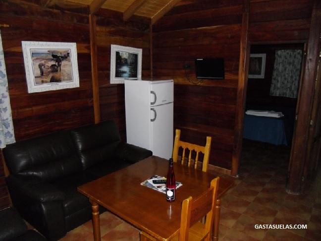 Interior Cabañas Valle Cabriel