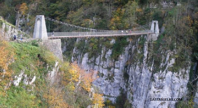 Puente Colgante Holzarte