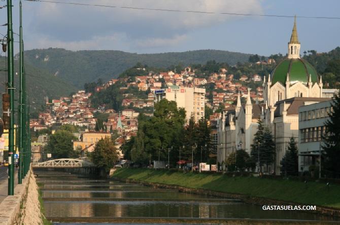 Rio Miljacka_Academia Arte_Sarajevo