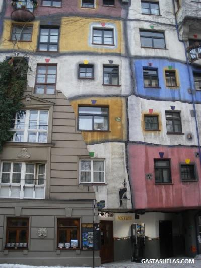 Casa Hundertwasser  en Viena (Austria)