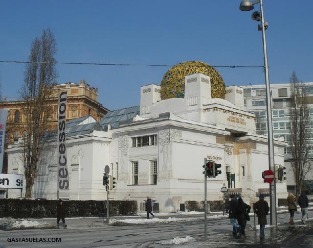 Edificio Secession en Viena (Austria)