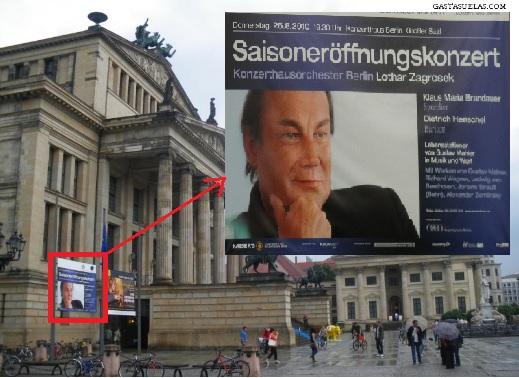 Cartel Auditorio Berlín