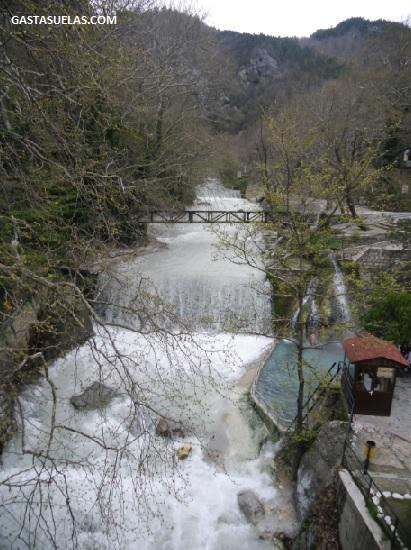 Entorno fluvial de Pozar (Grecia)
