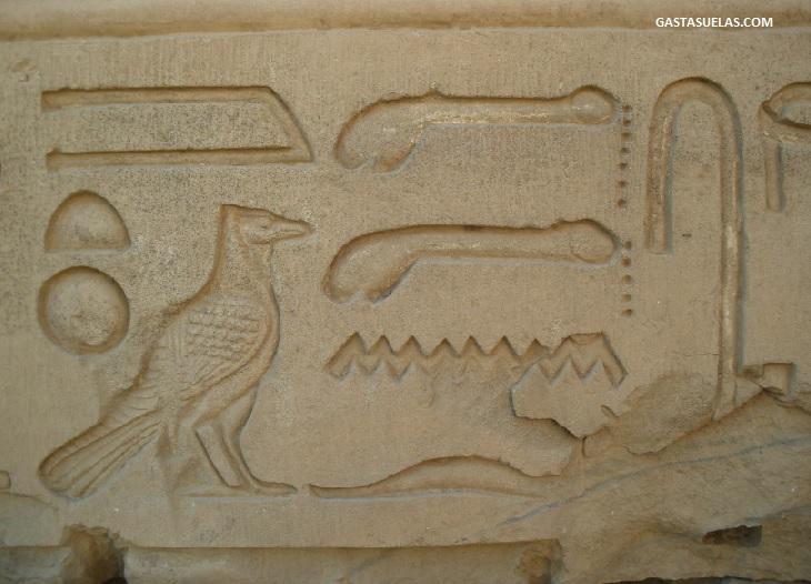 Jeroglifico Kom Ombo Egipto