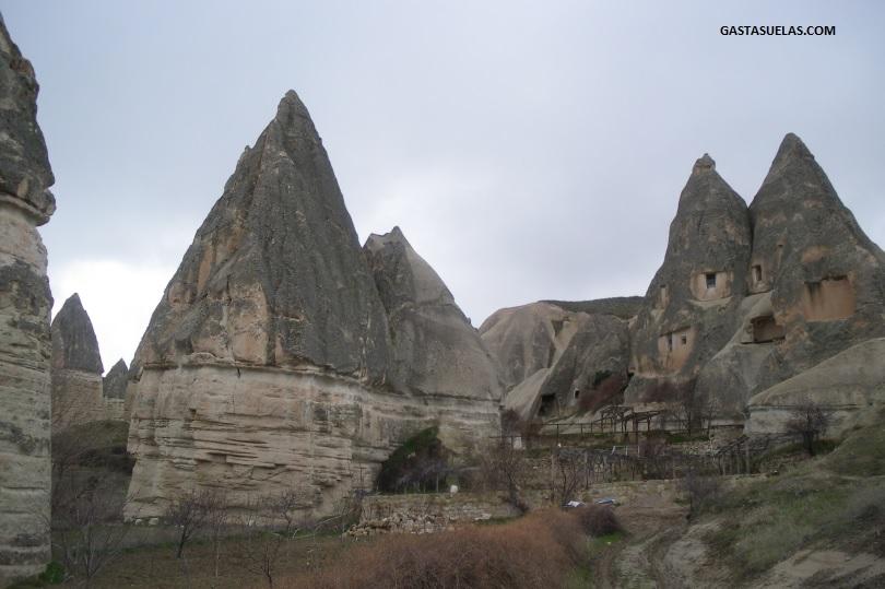 Paisaje singular en Capadocia (Turquía)