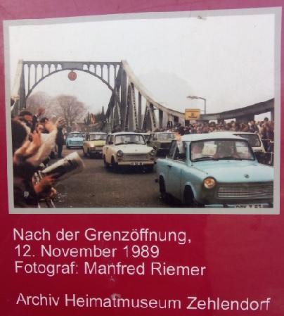Puente Glienicke Postdam