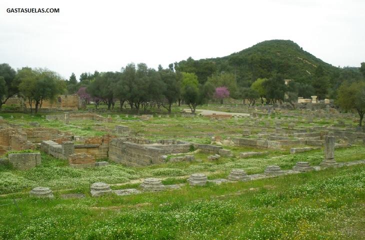 Santuario Olimpia Peloponeso