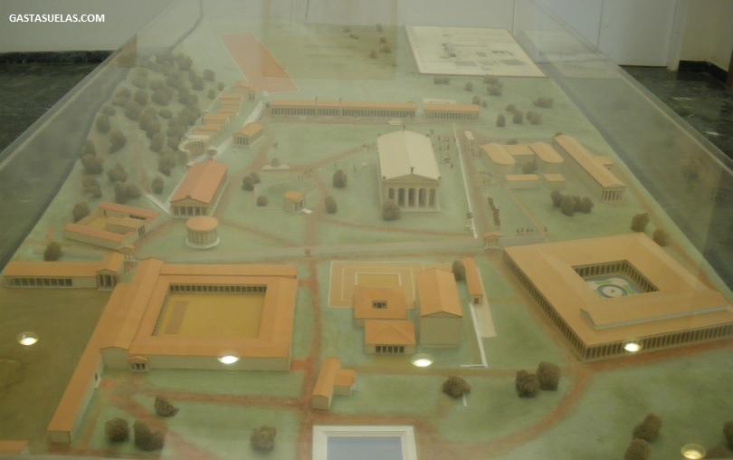 Maqueta Santuario Olimpia