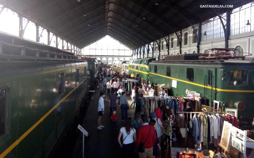 Mercado de Motores en el Museo del Ferrocarril de Madrid