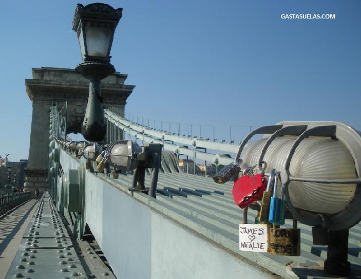 budapest puente cadenas