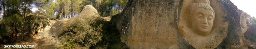 Senderismo en la Ruta de las Caras de Buendía (Cuenca)