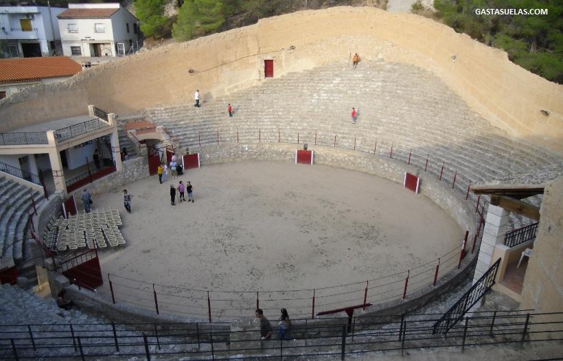 Interior Plaza de Toros de Alcalá del Júcar (Alabacete)
