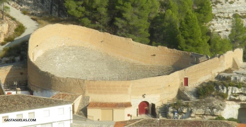 Plaza de toros de Alcalá del Júcar (Albacete)