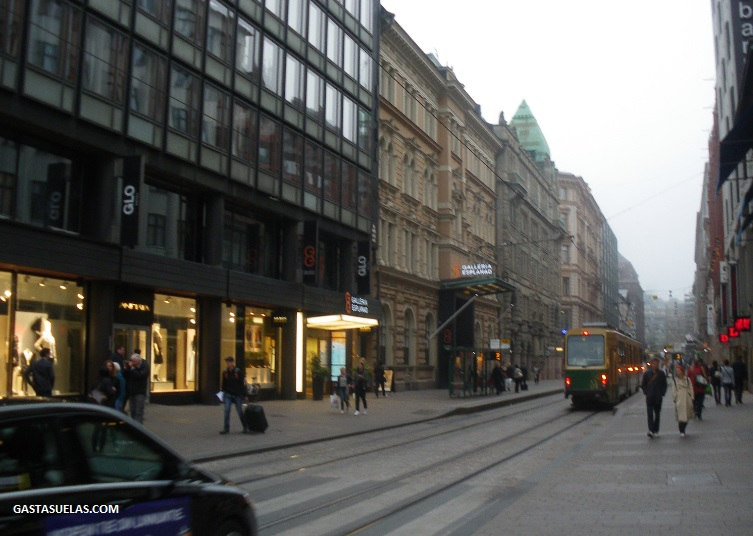 Centro de Helsinki (Finlandia)