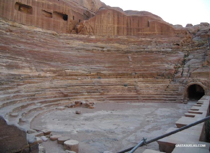 Teatro en Petra (Jordania)